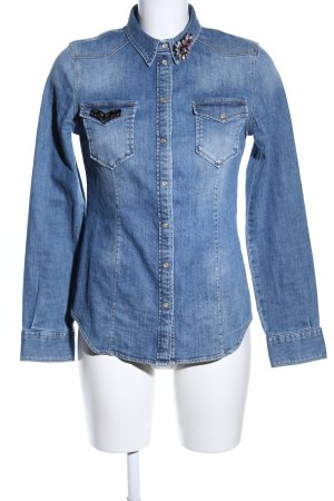 Liu jo Denim Shirt blue casual look