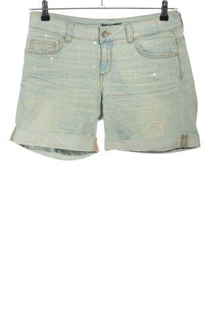 Liu jo Short en jean bleu style décontracté