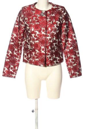 Liu jo Klassischer Blazer red-white flower pattern casual look