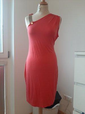 Liu jo Vestido de noche rojo frambuesa