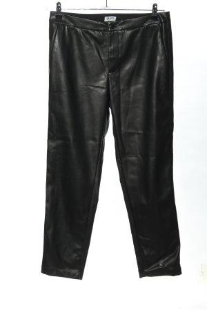 Liu jo Faux Leather Trousers black wet-look
