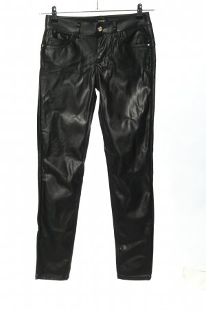 Liu jo Faux Leather Trousers black casual look