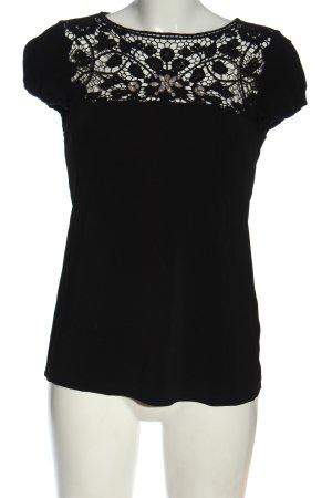 Liu jo Blusa de manga corta negro elegante