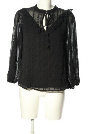 Liu jo Long Sleeve Blouse black casual look