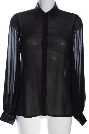 Liu jo Chemise à manches longues noir motif de tache style décontracté