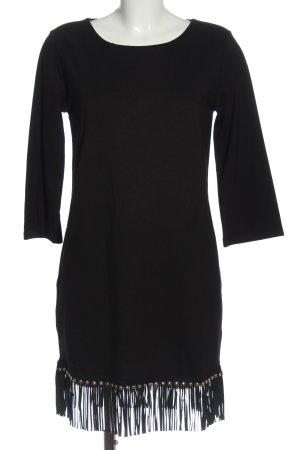 Liu jo Sukienka z długim rękawem czarny Elegancki