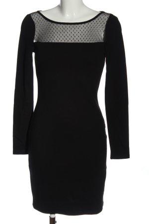 Liu jo Vestido de manga larga negro elegante