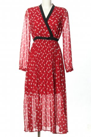 Liu jo Midi Dress allover print classic style