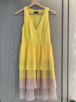 Liu jo Summer Dress yellow-beige