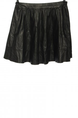 Liu jo Mini-jupe noir style décontracté