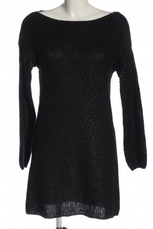 Liu jo Pulloverkleid schwarz Allover-Druck Casual-Look