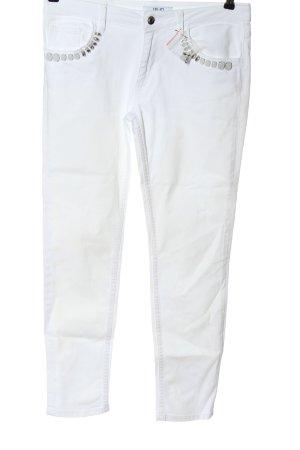 Liu jo Jeansy rurki biały W stylu casual
