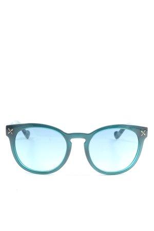 Liu jo Gafas de sol redondas turquesa-negro look casual