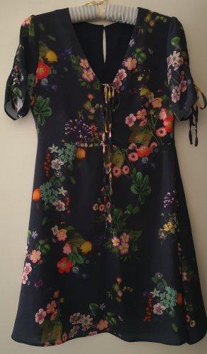 Liu jo Szyfonowa sukienka Wielokolorowy Poliester