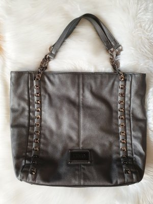 Liu jo Shoulder Bag silver-colored