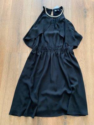 Liu jo Sukienka koktajlowa czarny-złoto