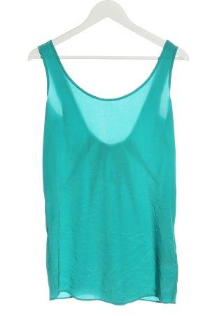 Liu jo Silk Top turquoise casual look
