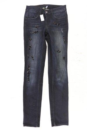 Liu jo Jeans skinny bleu-bleu fluo-bleu foncé-bleu azur coton