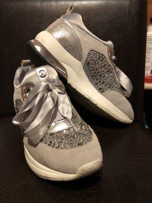 Liu jo Sneaker con zeppa argento-grigio chiaro