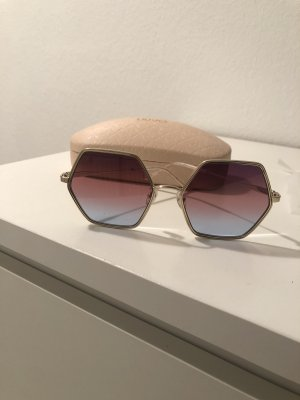 Liu jo Occhiale da sole spigoloso rosa-blu