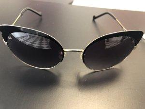 Liu jo Gafas mariposa negro-color oro