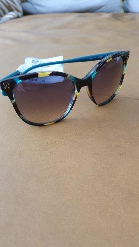 Liu jo Round Sunglasses brown-cadet blue