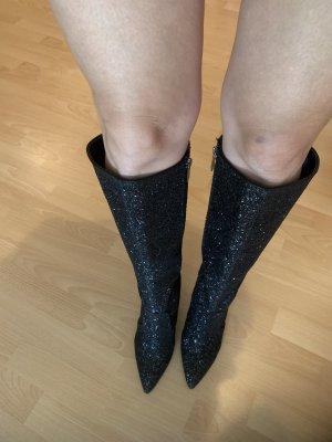 Liu jo Wysokie buty na obcasie czarny