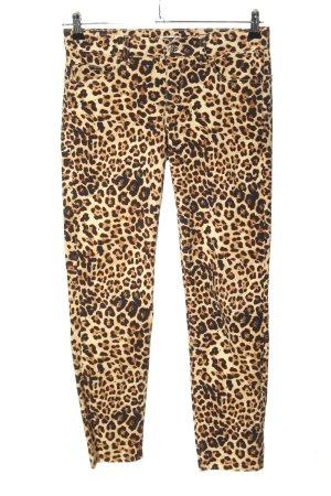 Liu jo Straight Leg Jeans leopard pattern casual look