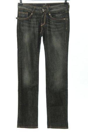Liu jo Jeans met rechte pijpen zwart casual uitstraling