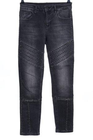 Liu jo Stretch jeans lichtgrijs casual uitstraling