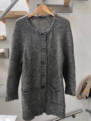 Liu jo Chaqueta de lana marrón grisáceo mohair
