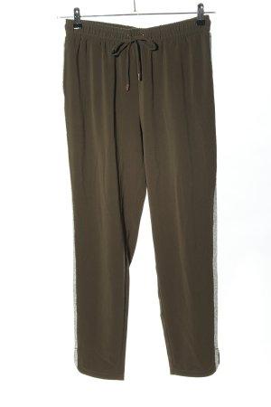 Liu jo Pantalone fitness cachi-argento stile casual