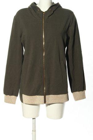 Liu jo Sweat Jacket khaki casual look