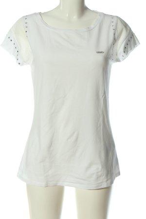 Liu jo T-shirt biały W stylu casual