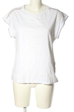 Liu jo T-shirt bianco stile casual