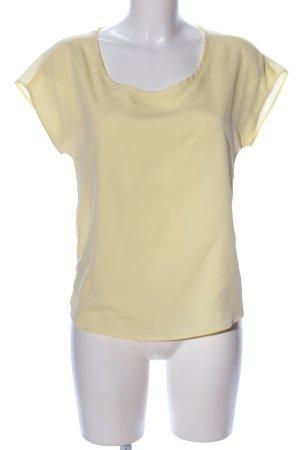 Liu jo T-Shirt blassgelb Casual-Look