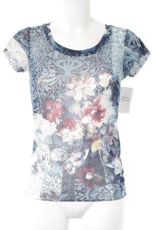 Liu jo T-Shirt florales Muster 90ies-Stil