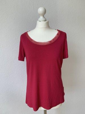 Liu Jo T-Shirt Top Pink Größe 40 Neu