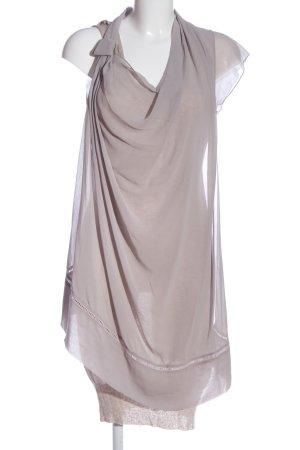 Liu jo Sukienka na ramiączkach jasnoszary W stylu casual