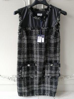 Liu jo Tweed Kleid mit Strassknöpfen // Neu mit Etikett