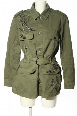 Liu jo Between-Seasons Jacket khaki casual look