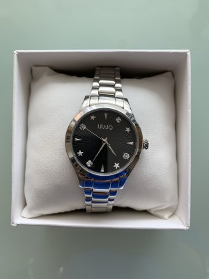 Liu jo Reloj con pulsera metálica color plata