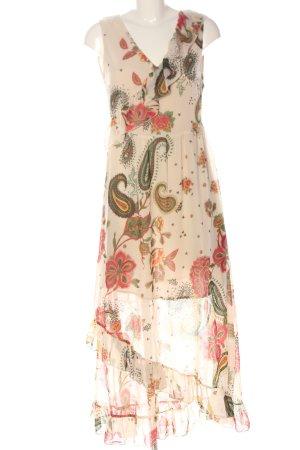 Liu jo Vokuhila-Kleid abstraktes Muster Elegant