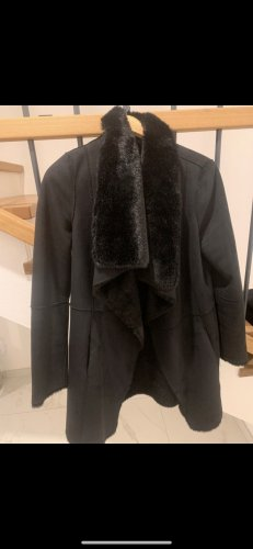 Liu jo Pelt Coat black