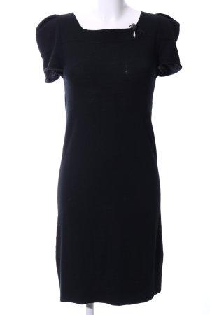 Liu jo Robe en laine noir style d'affaires