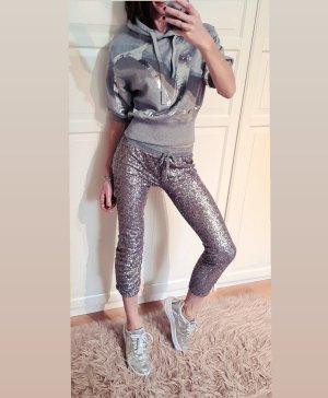 live love dream sequin Pailletten jogger leggings Jogginghose loungewear homewear Yoga Fitness streetstyle Sweatpants