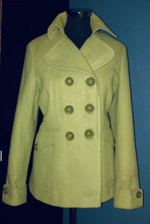 """Lively Lime"" Next Pea Coat"