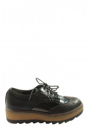 Living Updated Lace Shoes black casual look