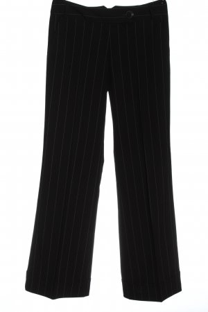 Livre Baggy Pants black allover print business style