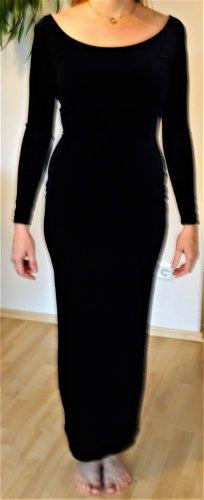 Livre - dunkelblaues langes Abendkleid aus Samt, Gr. 36 - neuwertig